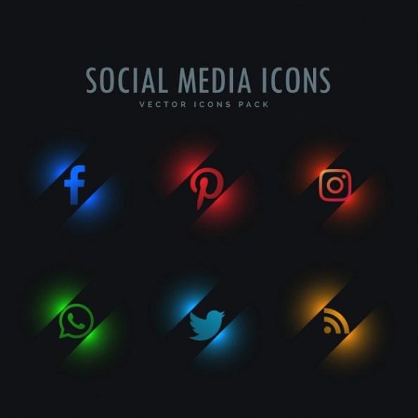 futuristic-icons-social-networks