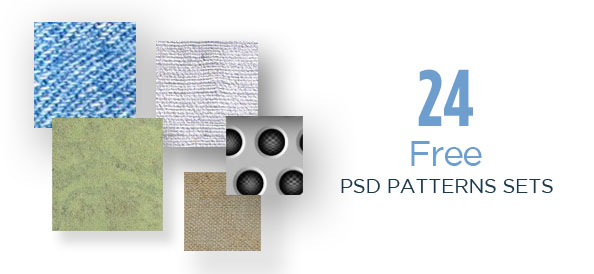24 Awesome Tileable Free PSD Patterns Sets