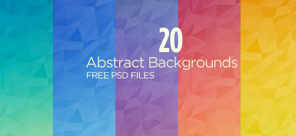 20 Free PSD Abstract Backgrounds for Breathtaking Designs