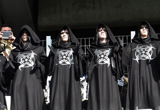 Mysterious figures at Juventus