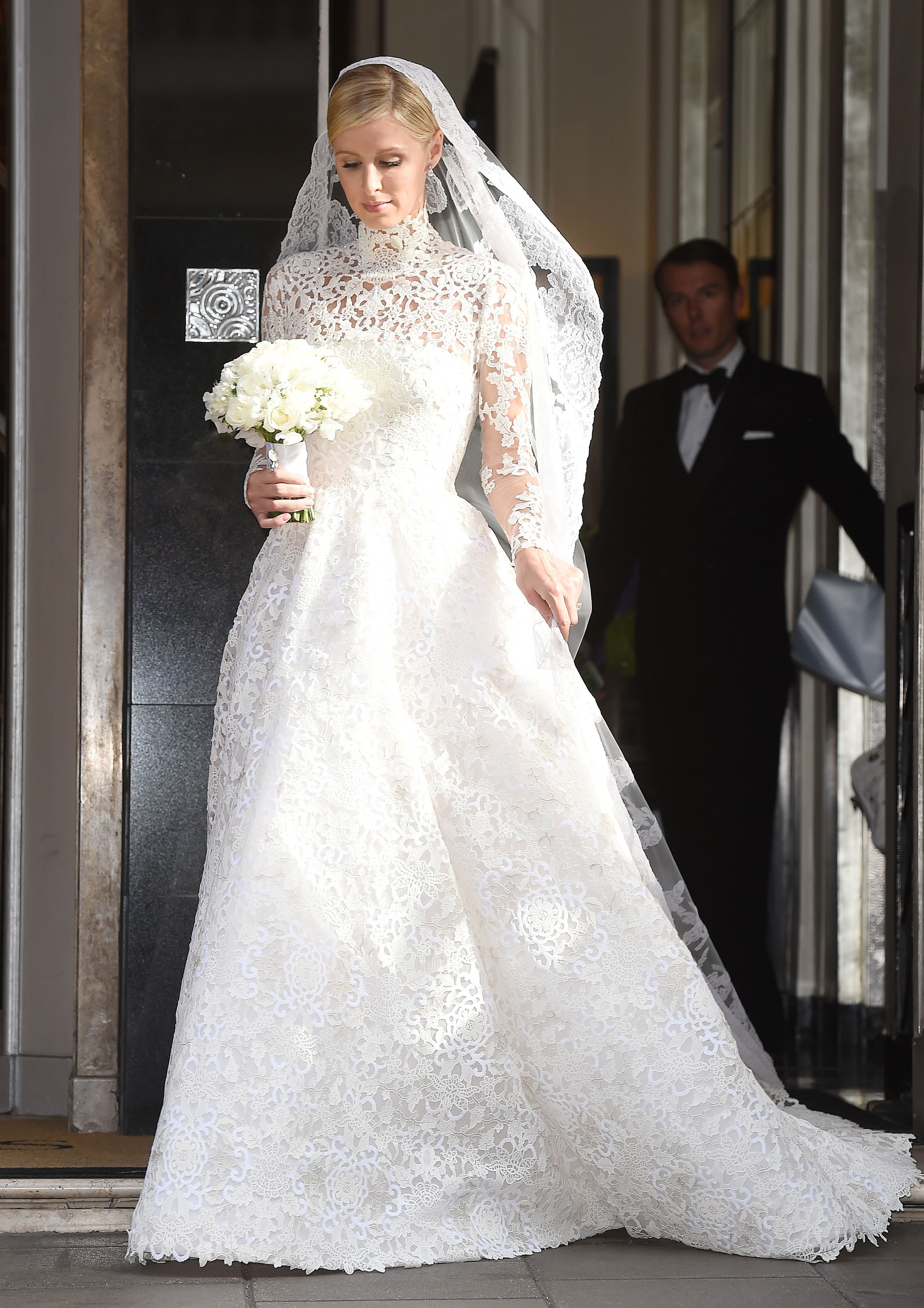 Glomorous Nicky Valentino Wedding Gown Nicky Valentino Wedding Gown Bride Nicky Hilton Nicky Hilton Wedding Dress Nicky Hilton Wedding Dress Cost wedding dress Nicky Hilton Wedding Dress
