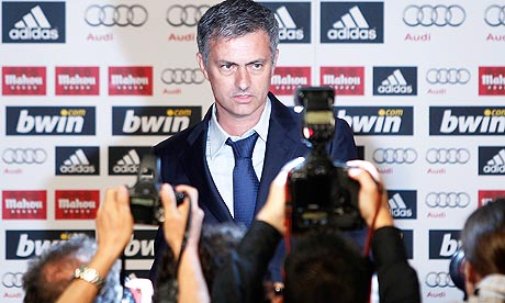 Jose Mourinho officially unveiled as the new Real Madrid manager.