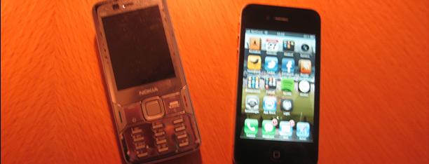 Nokia N82 vs iPhone4