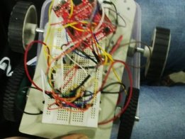 control of bot using bluetooth module