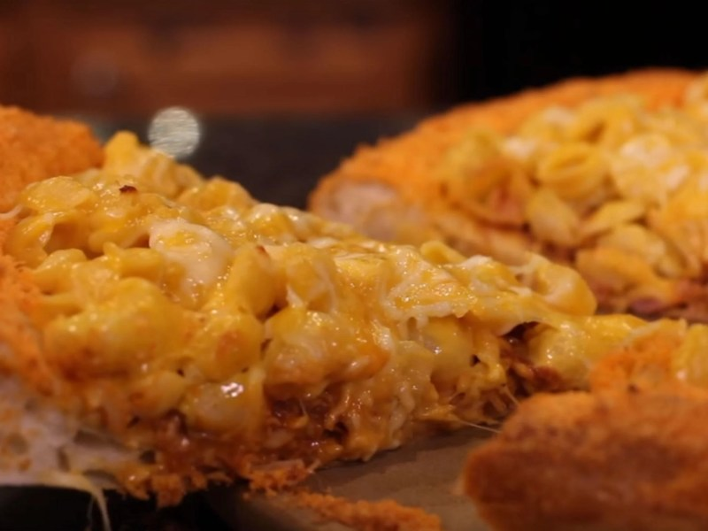 Large Of Mac N Cheese Pizza