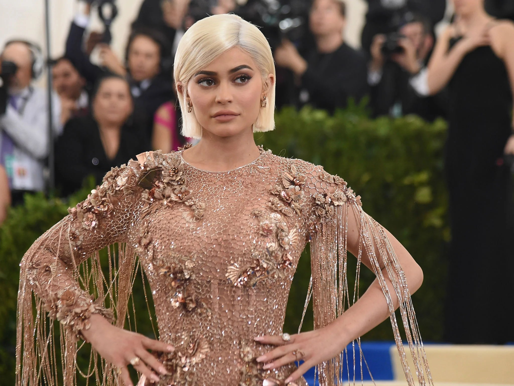 Kylie Jenner set to become the  youngest self made billionaire ever     Kyler Jenner Met Gala 2017