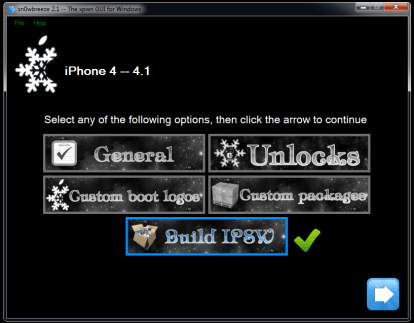 Sn0wbreeze2.1 iPhone a 10.03.18 414x323 How to Jailbreak iPhone 4/3G Untethered on iOS 4.2.1 Using Sn0wbreeze 2.2 on Windows