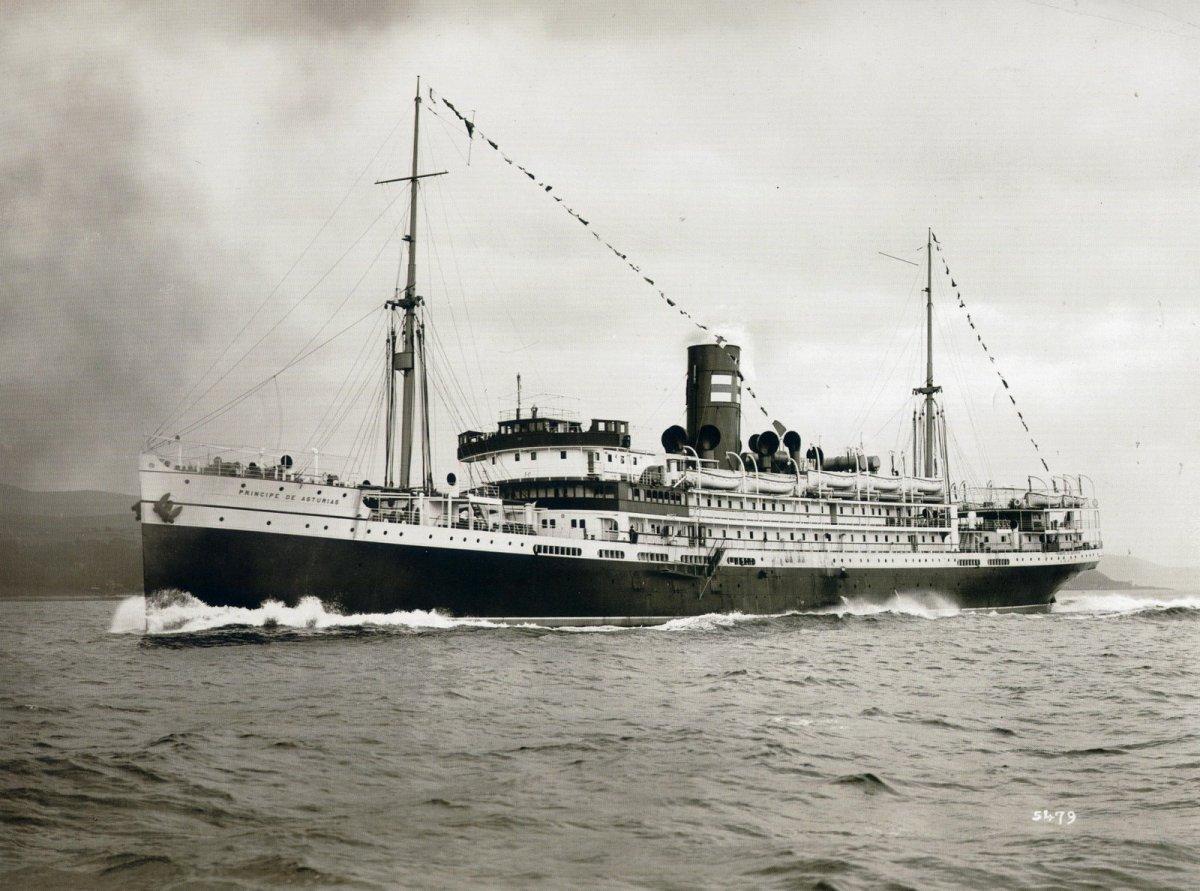Príncipe de Astúrias, o Titanic Brasileiro