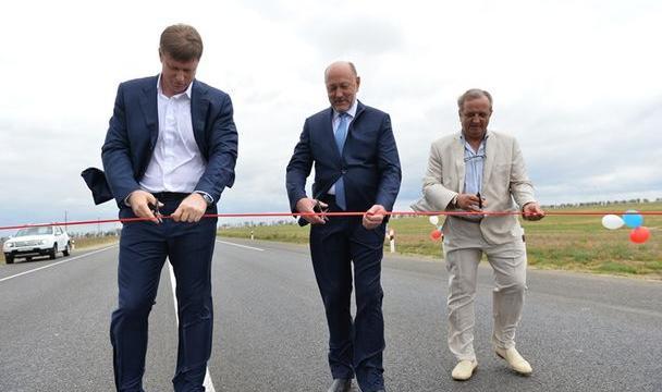 Новый участок дороги «Светлоград— Благодарный— Будённовск» открыли наСтаврополье