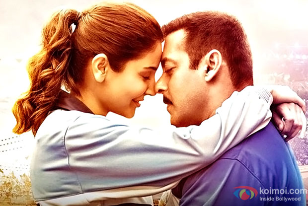 Anushka Sharma and Salman Khan in a still from Sultan