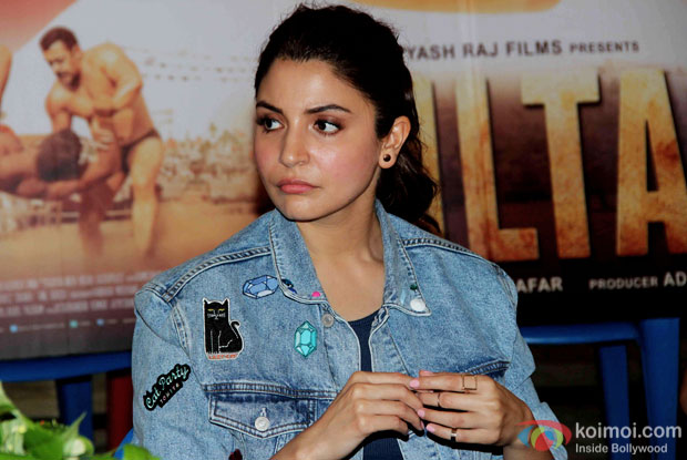 Anushka Sharma at press meet of Sultan's Success