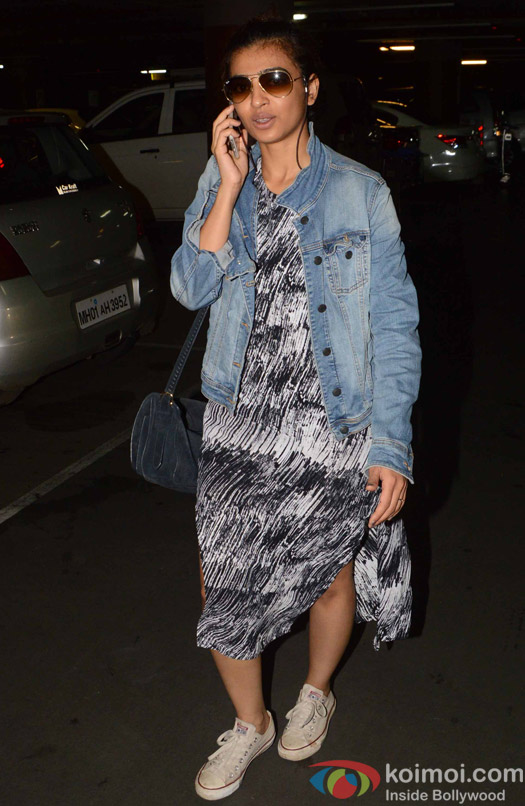 Radhika Apte Spotted at Airport