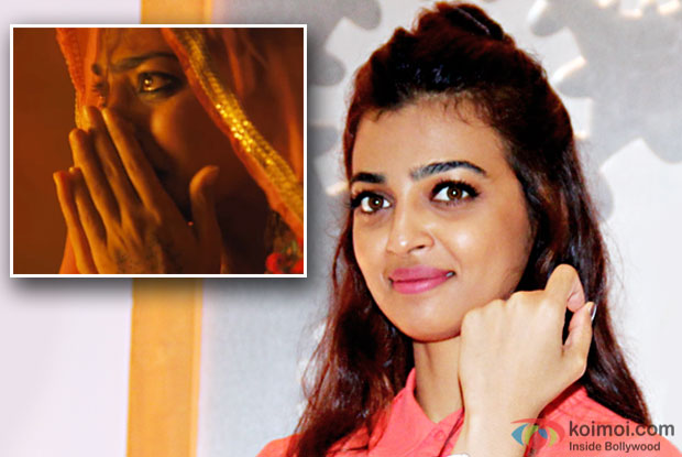Radhika Apte slams reporter for question on leaked 'Parched' video