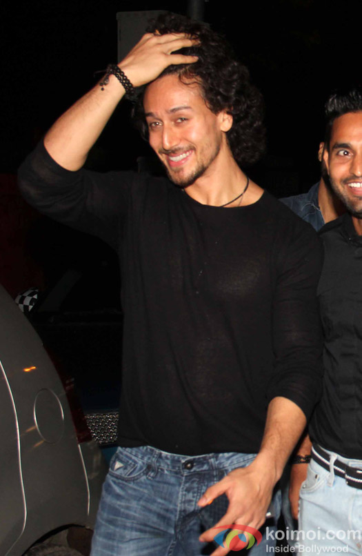 Tiger Shroff spotted at PVR