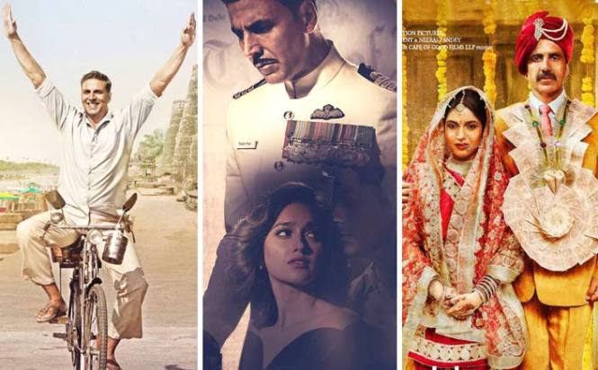 Akshay Kumar and KriArj set to start 2018 with a bang, score a hat-trick with Padman after Rustom and Toilet - Ek Prem Katha