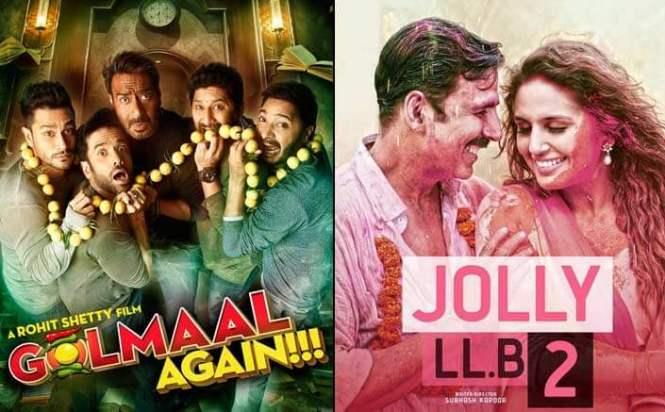 Golmaal Again Beats Akshay Kumar's Jolly LLB 2 To Enter The 200 Crore Club
