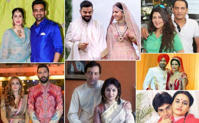 Have A Look At The List Of Bollywood Actresses Who Got Married To Cricketers