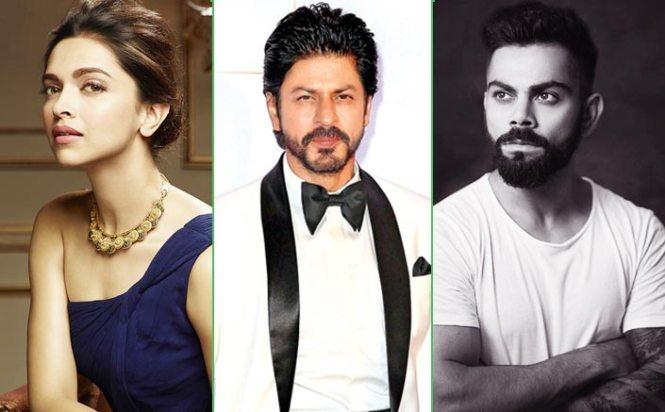 Virat Kohli Knocks Down Shah Rukh Khan & Deepika Padukone As Most Valuable Celebrity Brand