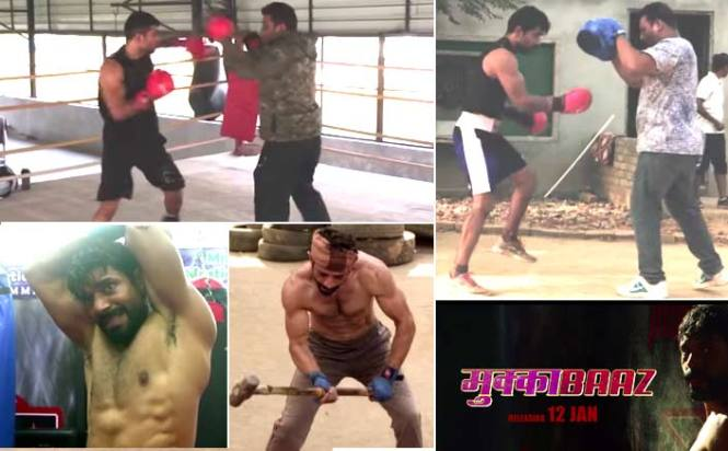 Watch video: Vineet Kumar Singh gets into training mode for Anurag Kashyap's Mukkabaaz!