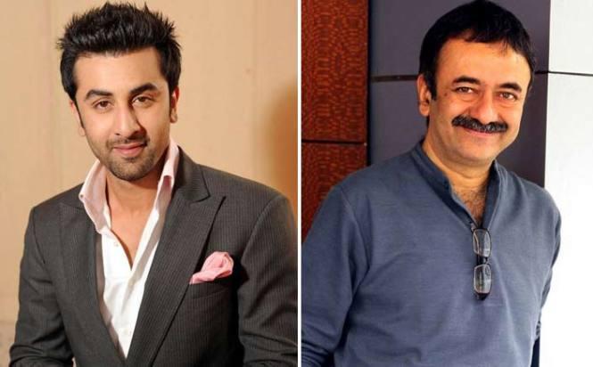 Ranbir Kapoor and Rajkumar Hirani