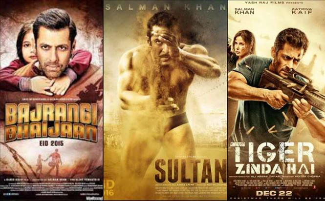 Salman Khan turns only Indian Actor to have a hattrick in 300 cr club