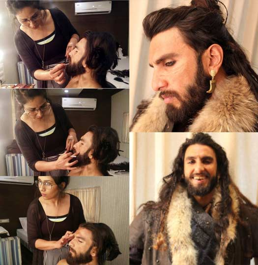 Padmaavat's makeup, hair and prosthetic designer Preetisheel Singh