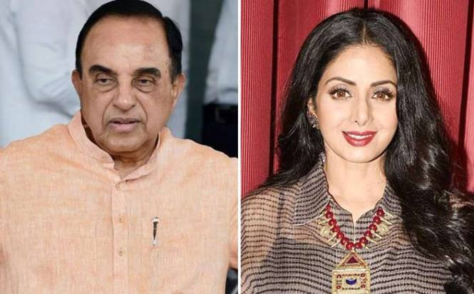 Subramanian Swamy Says Sridevi Was Murdered