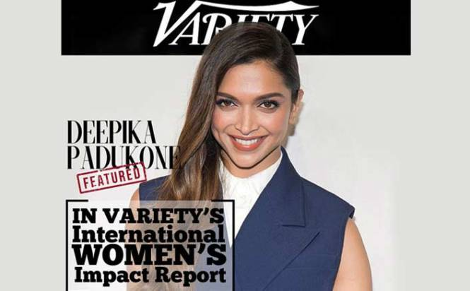 Variety Magazine lists Deepika Padukone in International Women's Impact report