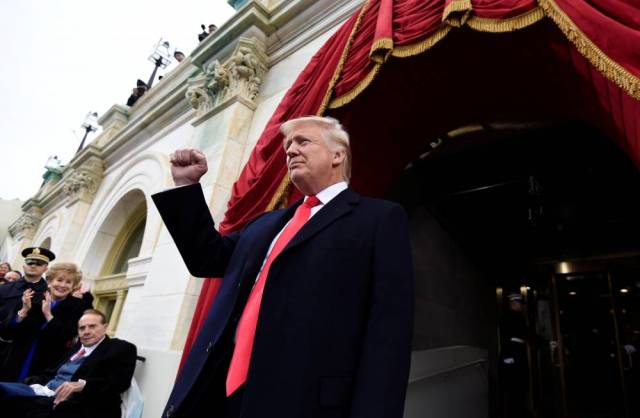 US-POLITICS-TRUMP-INAUGURATION-PREPARATIONS ©  SAUL LOEB / POOL / AFP