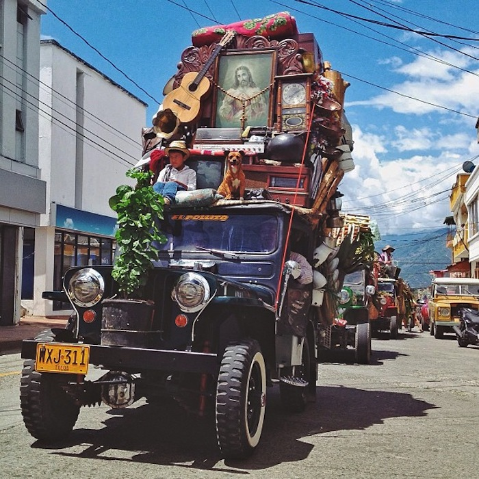 superior Everything But Kitchen Sink #8: In the Coffee Triangle of Columbia, the locals worship an unlikely iconu2013  the Willys Jeep, Americau0027s military vehicle of choice during World War II.
