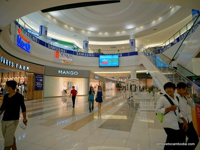 Aeon shopping mall Phnom Penh