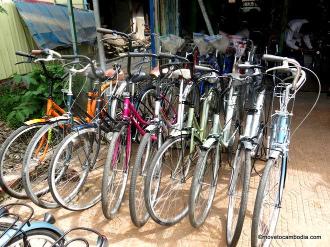 Cambodia bicycles