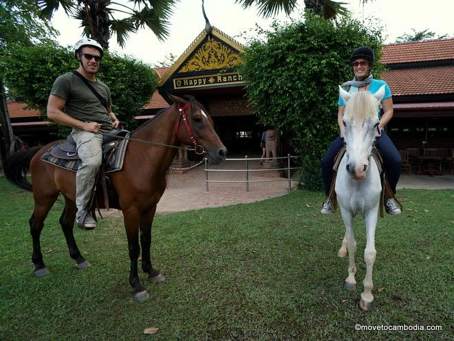 horse riding siem reap