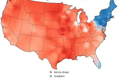 dialect maps of the united states neatorama