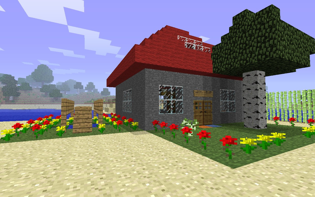 Classy Little House Little House Minecraft Project My Little House City Inn Little House Porto houzz-02 Cozy Little House