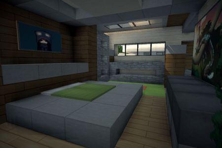 minecraft bedroom viewing gallery