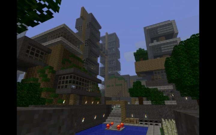 Awesome city 1378419 3 awesome city 3 diamonds minecraft sweet and
