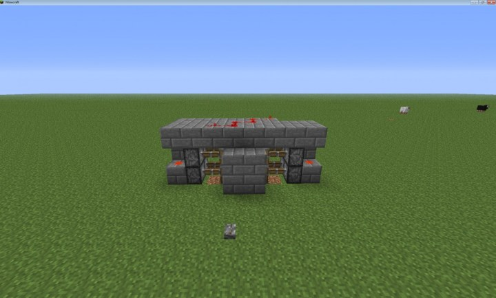 minecraft how to make iron doors not open from redstone