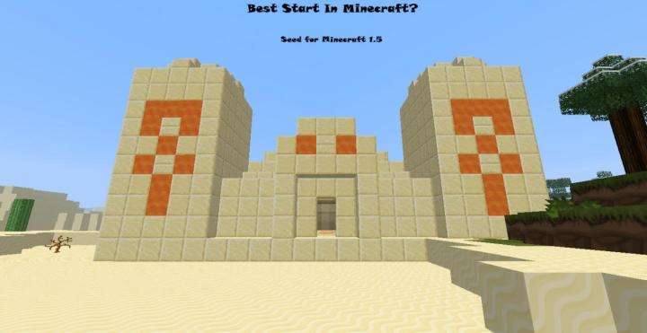 Best Start Ever In Minecraft Seed For Minecraft Version 15 Minecraft .Best Minecraft Seeds With Structures