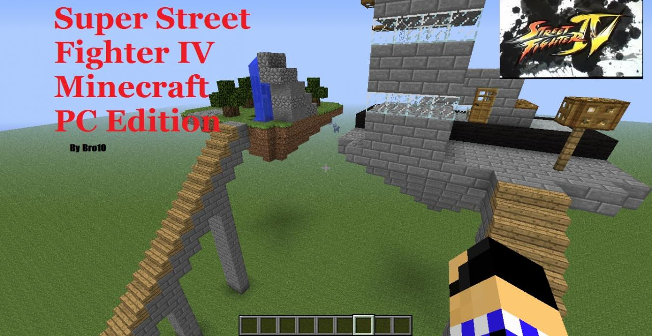 Super Street Fighter IV Minecraft PC Edition Minecraft Project Super Street Fighter IV Minecraft PC Edition