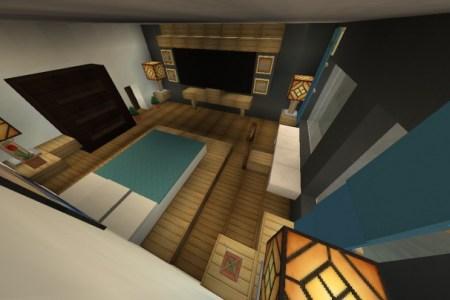 furniture modern bedroom design minecraft project