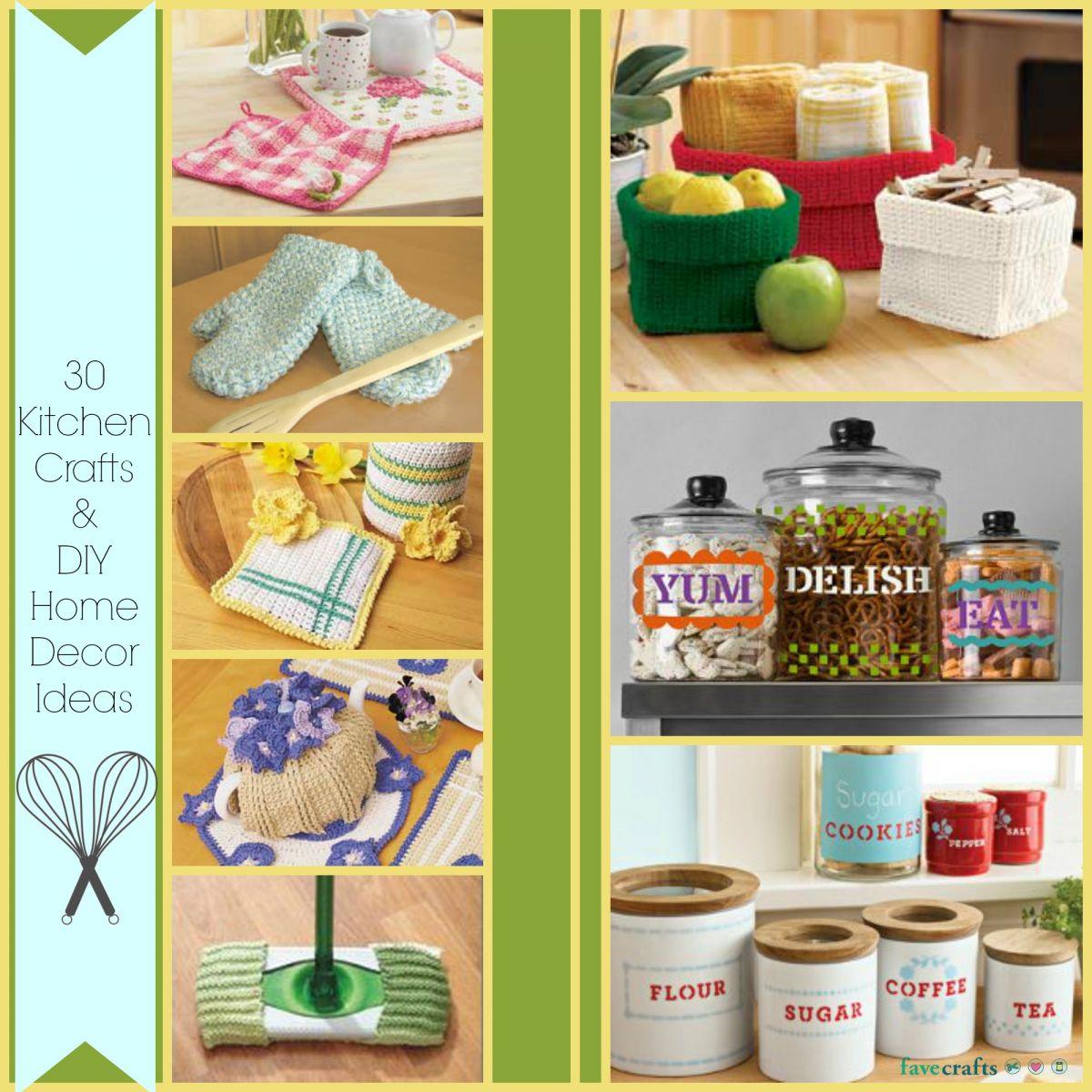 26 Kitchen Crafts and DIY Home Decor Ideas diy kitchen ideas 30 Kitchen Crafts and DIY Home Decor Ideas