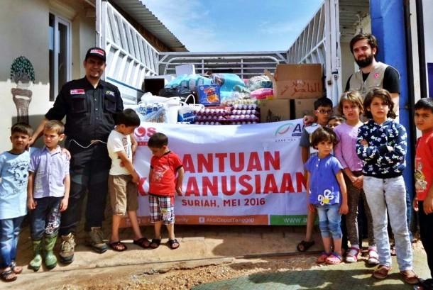 Tim Kemanusiaan ACT Mendistribusikan Bantuan ke Suriah