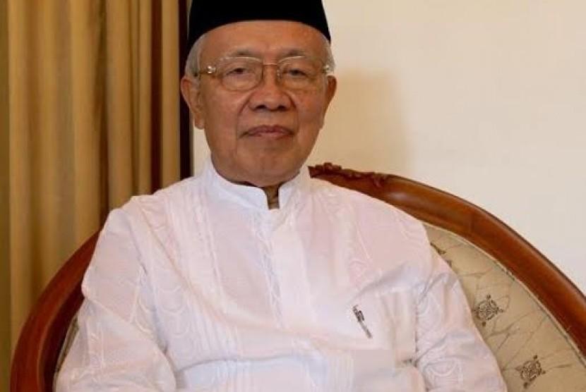 Ketua Umum MUI Kota Bandung KH Miftah Faridl.