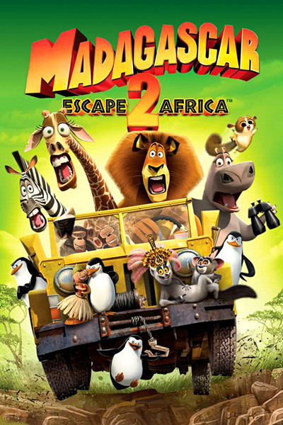 Poster do filme Madagascar 2