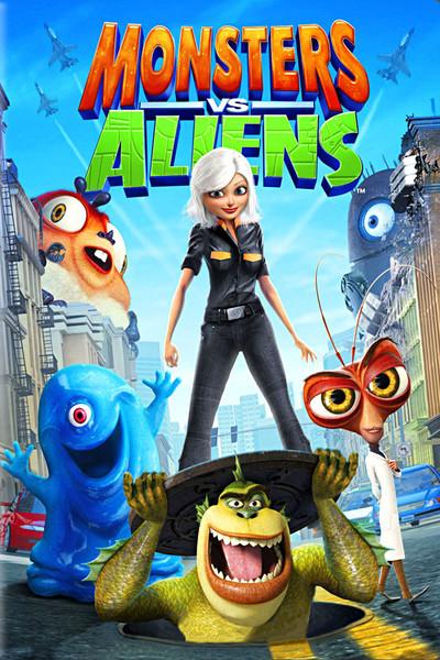 Image result for monsters vs aliens