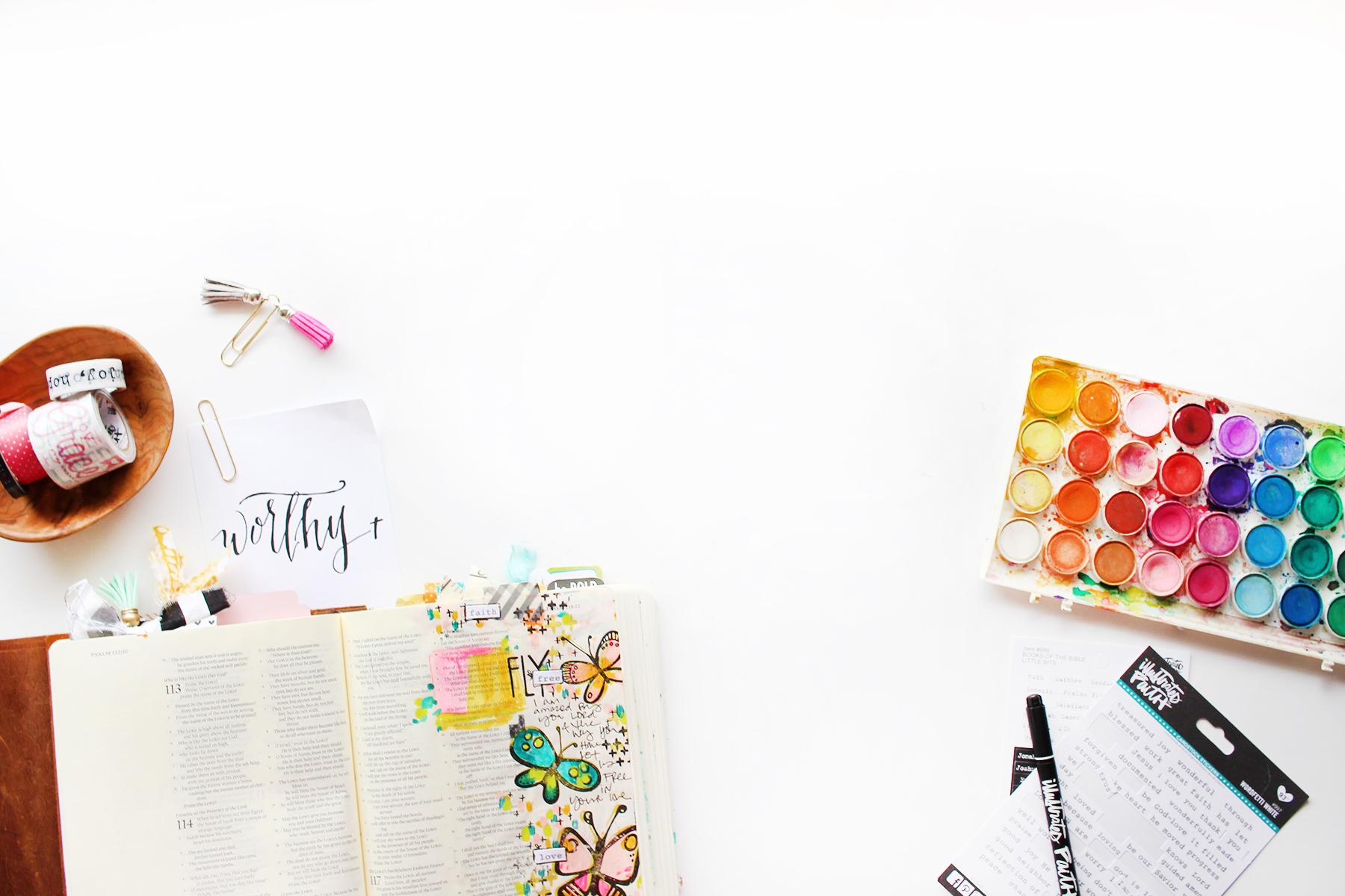 Test Banner for Shanna with Illustrated Faith