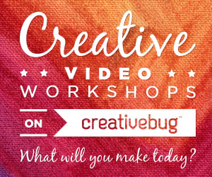 Creative Video Workshops on Creativebug.com