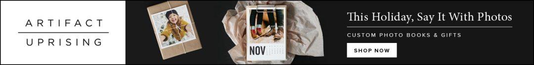 Artifact Uprising personalized photo gifts