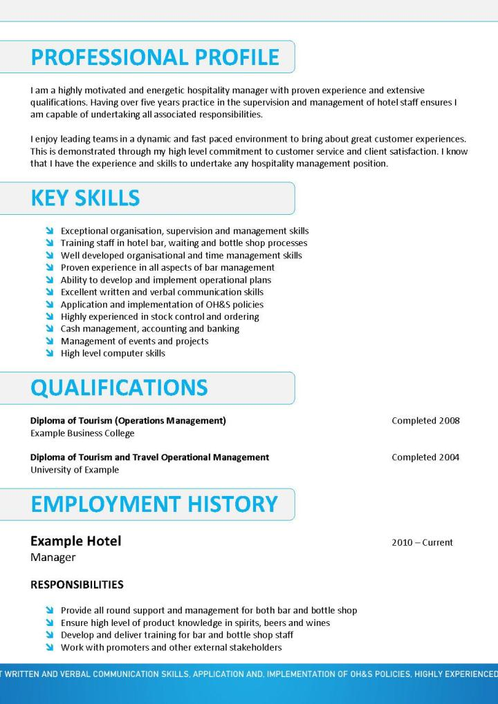 Hospitality Resume Template 067How Much To Mail A Letter To Australia LaBAgoNF